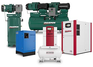 Champion Oil Lubricated Air Compressors