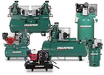 Champion Reciprocating Air Compressors