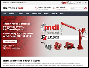 Thern Cranes and Power Winch Sales